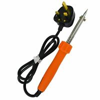 60W Soldering Iron Electric Solder 230v With Copper Tip By BERGEN AT307