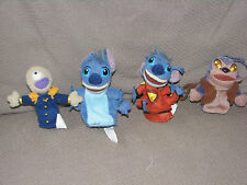 THE WALT DISNEY CO STORE LILO AND & STITCH FINGER PUPPETS SET OF 4