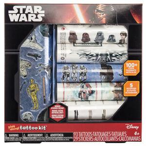 Savvi Star Wars Play Along Temporary Tattoo and Sticker Activity Kit
