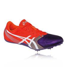 Chaussures orange ASICS pour fitness, athlétisme et yoga
