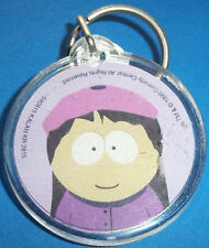 South Park ~ Plastic Disc Amy Key Ring ~ Brand New, Never-Been-Handled Condtion