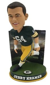 Green Bay PACKERS Milwaukee BREWERS BUCKS Jerry Kramer Bobblehead #/144 NOT SGA