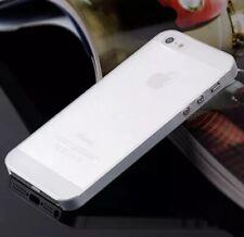 IPhone SE/5s/5 Case Ultra Slim White Mega Thin Protective Case Bumber Case