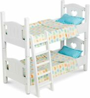 Melissa & Doug Mine To Love Baby Doll Dolls Bunk Bed Wooden Wood Toy Playset
