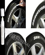 PAINT PEN 1pc White Marker Waterproof Permanent Car Tire Rubber Oil Based Letter