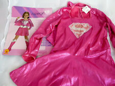RUBIES Supergirl Superman Superheros Costume Fancy Dress Outfit size M 5-7 years