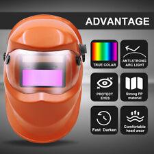 True Color Auto Darkening Welding Helmet Arc Tig Mig Mask Grinding Welder Mask
