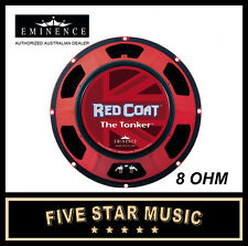 "EMINENCE THE TONKER RED COAT SERIES 12"" GUITAR SPEAKER 150 WATTS 8 OHM NEW"