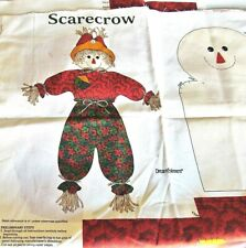 Dreamspinners,VIP Cranston 'Scarecrow' Soft Sculpture Doll Craft Panel