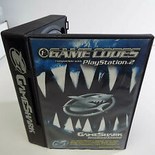 GAMESHARK 2 BROADBAND ENABLED GAME CODES 2004 V.5.4 CHEAT (PLAYSTATION 2) (D600)