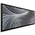 Flowing Art Modern Wall Minimalist Artwork Contemporary Decor on Metal/Acrylic