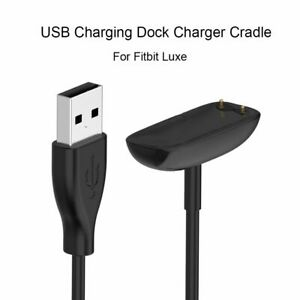 USB Charging Dock Cable Station Charger Cradle For Fitbit Luxe Special Edition