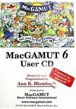 MacGamut 6 User Disk Not Just For Ear Training Anymore -Cd-Rom Blombach 2013