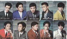 Korea K-POP Super Junior DongHae SiWon KyuHyun EunHyuk LeeTeuk 10 card 115