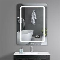 800x600mm Fogless LED Backlit Bathroom Makeup Mirror 3X Magnifying+Sensor Touch