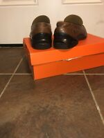 Cole Haan Womens NikeAir Slip-on Venetian Loafers Size 8 M Brown Leather C08093