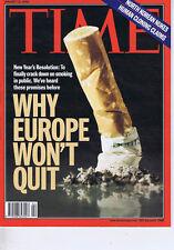 WHY EUROPE WON'T QUIT / NORTH KOREA NUKESTime magazineJan132003