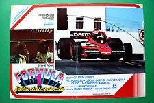 T04 FOTOBUSTA FORMULA 1 FEBBRE DELLA VELOCITA' AUTO CAR RACING FERRARI F1 CORSA