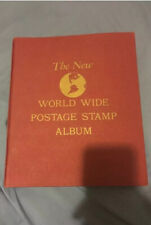 The New World Wide Postage Stamp Album 1900s Great Condition.