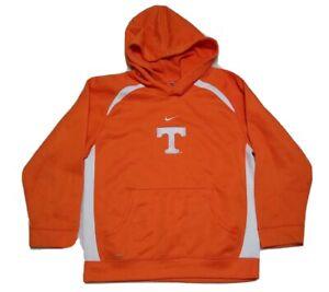 Nike Fit Dry Youth Small Tennessee Volunteers Orange Pullover Hoodie