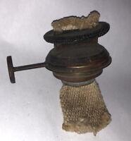 Antique Climax Oil Kerosene Lamp Burner Vintage W Wick Nice!