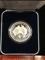 Scouts Centenary 2008 $5 Fine Silver Proof Coin, Australia, RAM