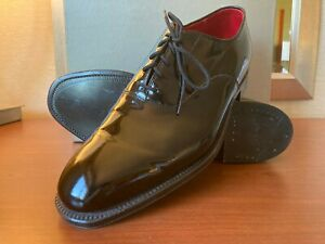 New Alden 9373 Plain Toe Balmoral Black Oxford Shoe US 11.5 Made in USA