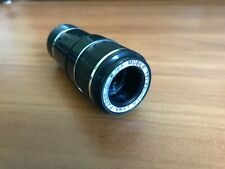 HD 12x Zoom Optical Telescope Clip-on Camera Len For Universal Mobile Cell Phone