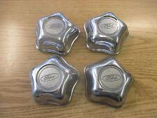 genuine 1995 to 1999 Ford Explorer alloy wheel center caps hubcaps set