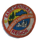 Vtg Boy Scout East Central Region America's Heartland Weathered Fabric Patch BSA