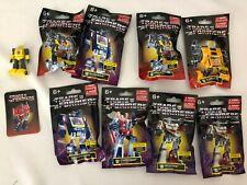Lot of 8 Transformers G1 Hasbro Mini Figure Blind Bag Bumble-Bee Megatron
