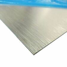 "Brushed, Anodized Aluminum Sheet, Thickness: 0.025"" x 12"" x 24"""