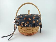 Longaberger 1996 Small Pumpkin Basket Combo w Lid