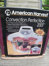 Convection Perfection Oven by American Harvest White 1250 Watt CO-200T NEW