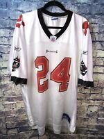 Reebok NFL On Field Tampa Bay Bucs #24 Williams White Jersey Size XL🔥Free Ship