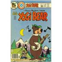 Yogi Bear (1970 series) #35 in Very Good + condition. Charlton comics [*4d]