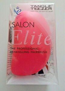 Tangle Teezer Salon Elite Pink Detangling Hairbrush British Made  SE-PB-010112