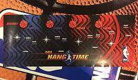 NBA Hangtime Arcade Control Panel Overlay CPO Decal Maximum Hang Time Jam Midway