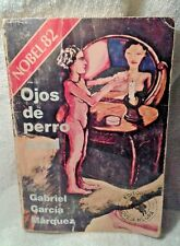 Ojos de Perro Azul Gabriel García Márquez Nobel 82 vintage book