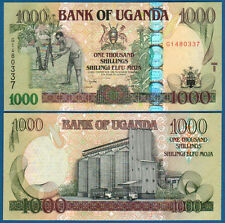 UGANDA  1000 Shillings 2009  UNC  P. 43 b