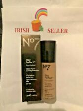 No 7 stay perfect foundation for all skin types 100% Authentic Irish Seller