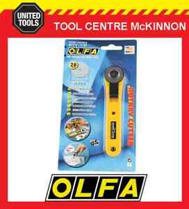 OLFA RTY-1/G 28mm ROTARY CUTTER SEWING & QUILTING CRAFT CUTTER – MADE IN JAPAN