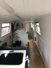 40ft modern canal boat narrow boat barge live aboard houseboat