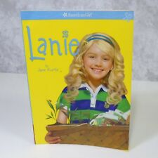 NEW American Girl Of The Year Doll LANIE BOOK Paperback Story Nature Explorer