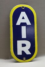 ECHO AIR METER  PORCELAIN SIGN GAS OIL CAR FARM MOTOR SINCLAIR ESSO MOBIL TEXACO