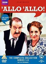 'Allo 'Allo: The Complete Series 1-9 (Box Set) [DVD] New/sealed