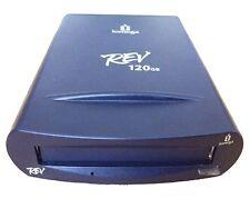 Iomega Rev 120GB Laufwerk Drive USB Mac/PC # 350