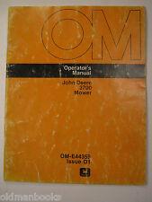 John Deere 3700 Mower Operator'S Manual Ome44359