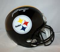 huge selection of be693 a295b Football-NFL James Harrison Signed Throwback Steelers Bumble ...