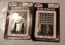 HO Code 100 Snap Track  Bumpers #843  2Pcs
